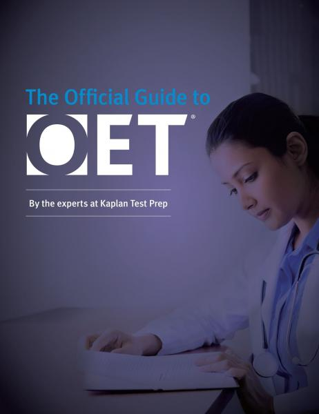 Official guide to OET   Kaplan Publishing  2018 - آزمون های کانادا