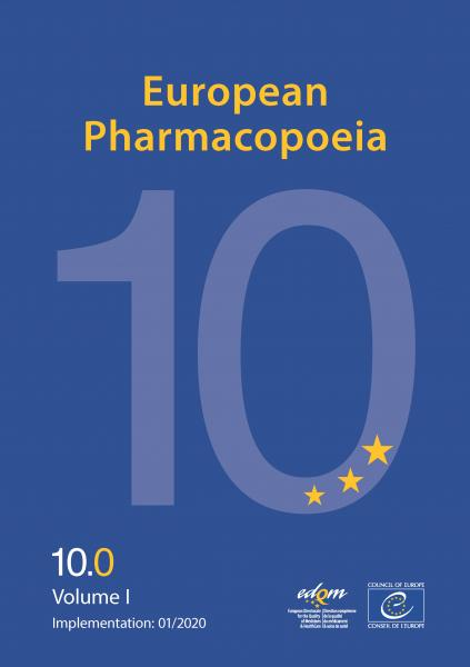 European Pharmacopoeia (Ph. Eur.) 10th   2020