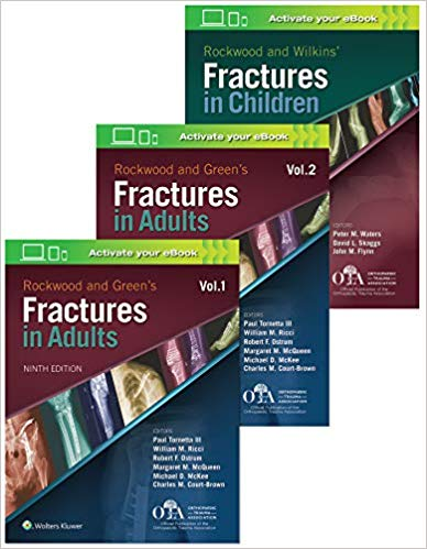 Rockwood and Green s Fractures in Adults and Children 6 vol 2020 - اورتوپدی