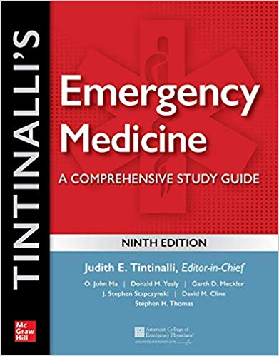 Tintinalli s Emergency Medicine-A Comprehensive Study Guide 3 Vol 2020 - اورژانس