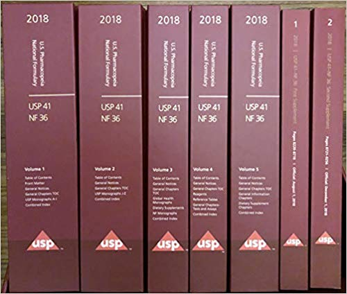 USP 41 NF 36 US Pharmacopeia National Formulary    12vol  2018 - فارماکولوژی