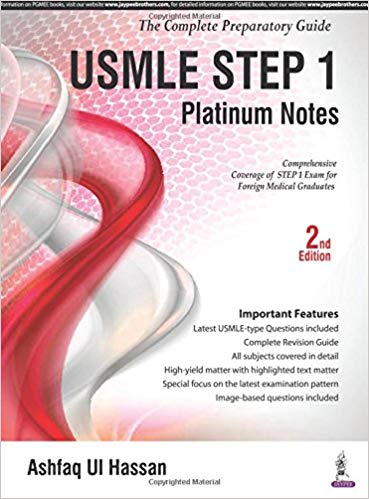 USMLE Platinum Notes Step 1- The Complete Preparatory Guide 2016 - آزمون های امریکا Step 1