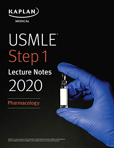 USMLE Step 1 Lecture Notes 2020: Pharmacology - آزمون های امریکا Step 1