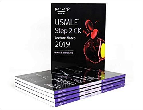 USMLE Step 2 CK Lecture Notes Kaplan 5 vol Kamel 2019 - آزمون های امریکا Step 2