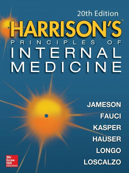 Harrison s Principles of Internal Medicine 4 Vol  2018 - داخلی