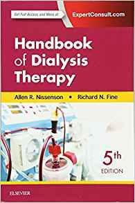 Handbook of Dialysis Therapy  2017 - داخلی کلیه