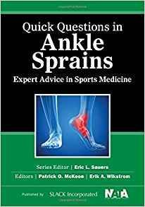 Quick Questions in Ankle Sprains  2015 - اورتوپدی