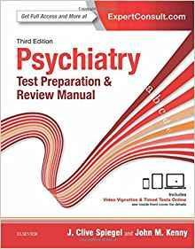 Psychiatry Test Preparation and Review Manual  2016 - روانپزشکی