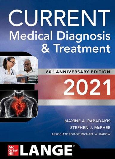 CURRENT MEDICAL DIGNOSIS & TREATMENT 2vol  2021 - داخلی
