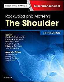 ROCKWOOD AND MATSENS THE SHOULDER  2016 - اورتوپدی
