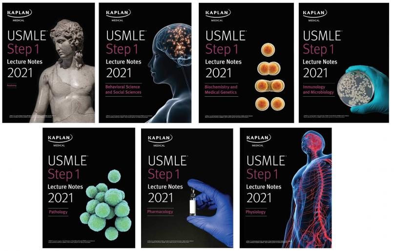 USMLE Step 1 Lecture Notes Kaplan 7 Vol kamel+dvd 2021 - آزمون های امریکا Step 1