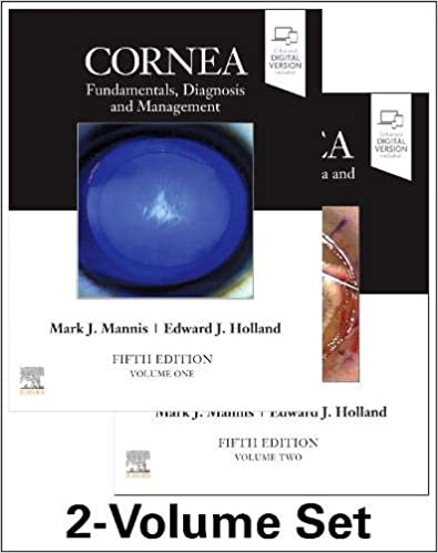 Cornea, 2-Volume 5th Edition-2022 - چشم