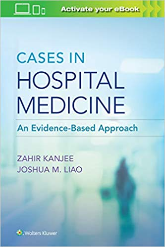 Cases in Hospital Medicine An Evidence-Based Approach 2020 - داخلی